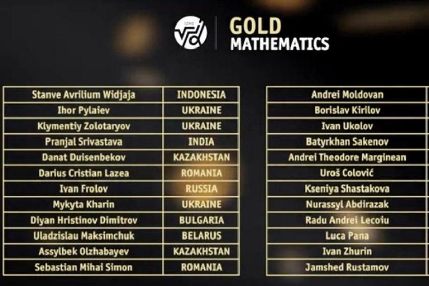"""Siswa Indonesia Raih """"Perfect Score"""" di Olimpiade Kazakhstan"""